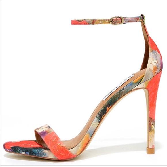 Steven Madden Stecy Floral Heel | Poshmark